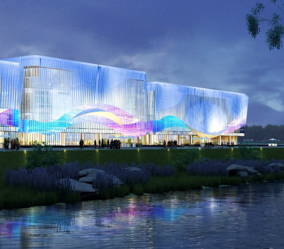 Won the Iconic International Convention Center Project